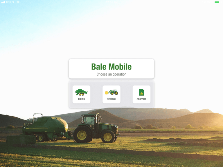 Application Bale Mobile
